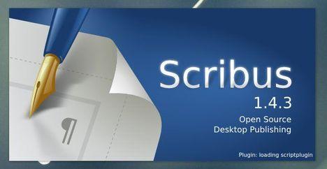 Scribus 1.4.3.
