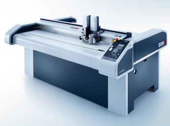 Zund за първи път представя новия модел плотер S3 по време на Fespa Digital