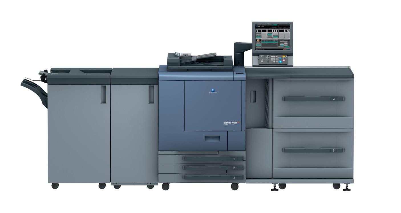 Нови модели bizhub PRESS C6000 и bizhub PRESS C7000/P
