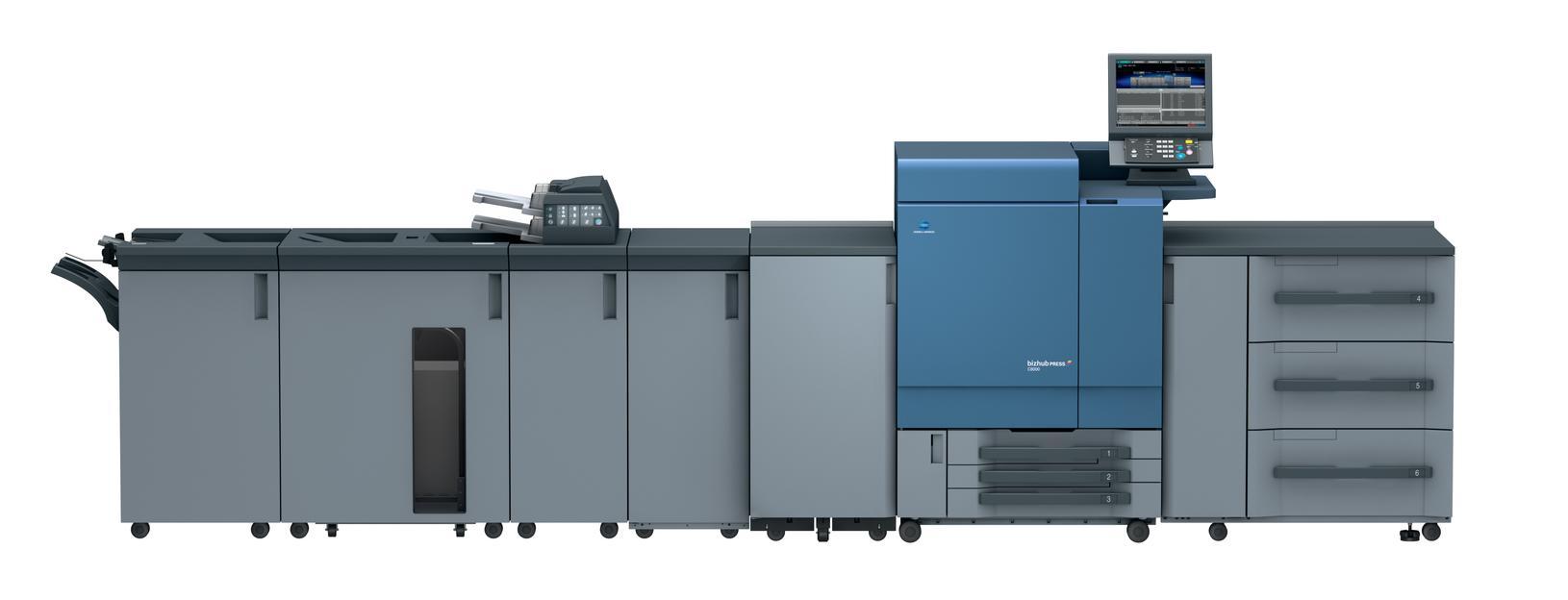bizhub PRESS C8000 е най-продаваната производствена система за печат