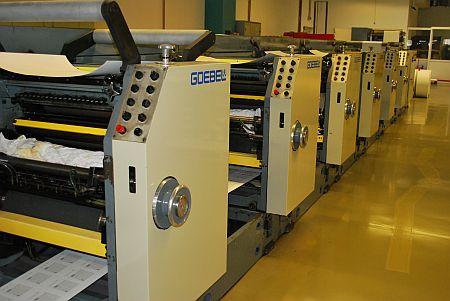 секции на ролна машина goebel