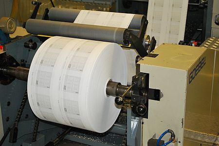 отпечатан първи цвят