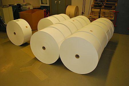 ролна хартия за печат на фишове