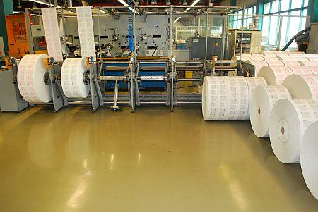 ролен колатор със заредени две секции