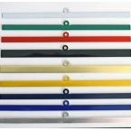 Поставяне на цветни метални лайсни