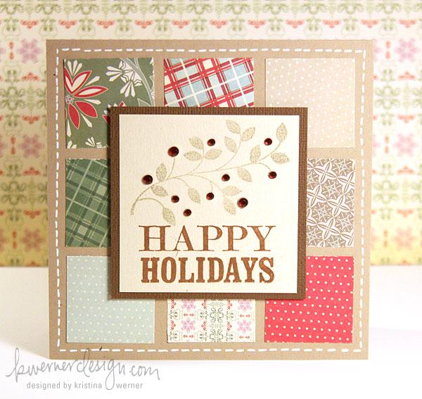 ръчно изработена картичка за Коледа