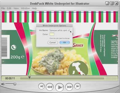 Добавяне на подложка за бяло мастило в Adobe Illustrator чрез няколко кликвания