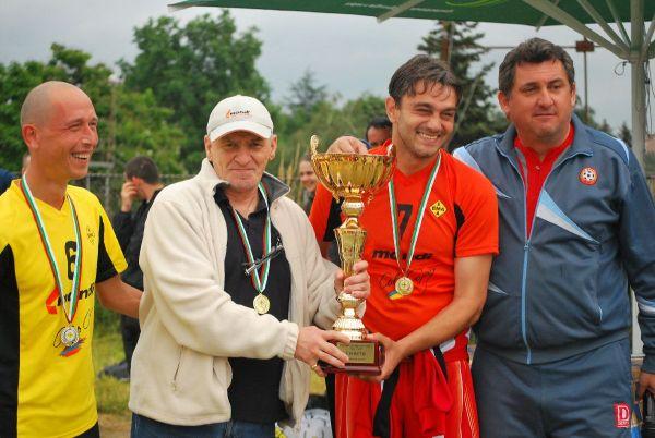 наградата връчи Милан Дамянович