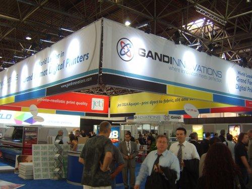 Gandinnovations с 20 продажби през първите три дни на Друпа 2008