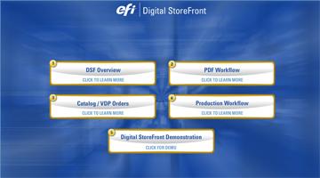 EFI Digital StoreFront (DSF)