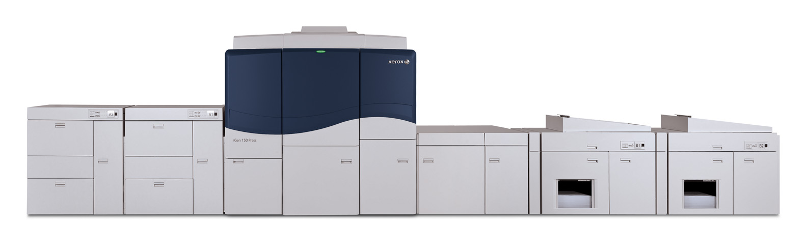 Новата дигитална печатна машина Xerox iGen 150