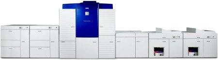 Тест на Xerox iGen3 110