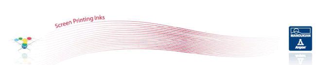 Двукомпонентно водно базирано мастило за текстилен печат дисчардж