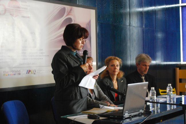 УНИБИТ, д-р Росица Велкова, Мариян Маринов, manroland България