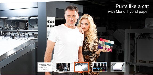 Монди се насочва към професионалния печат с нова кампания и специална уеб страница