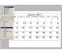 Calendar Wizard за Adobe Indesign