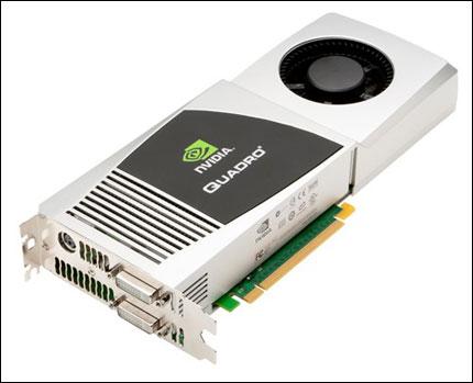 nVidia разработи графичен ускорител от серията Quadro и за Mac