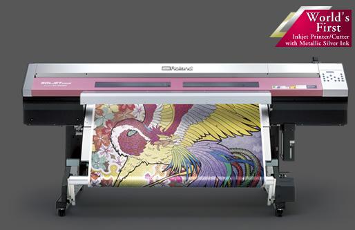 Гореща новина от Roland: XC-540MT с EcoSol Max Silver Ink