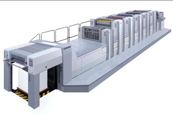 Нова печатна машина формат 3/4 от Сакурай