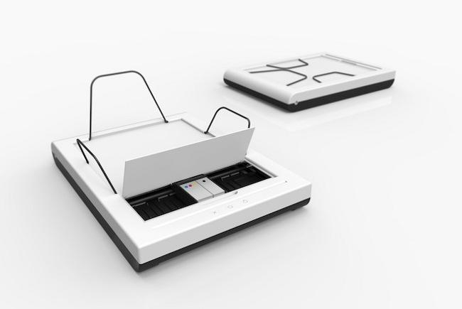 Това ли е най-малкият мастиленоструен принтер в света?