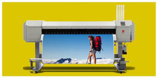 Océ пусна нова серия екосолвентни принтери