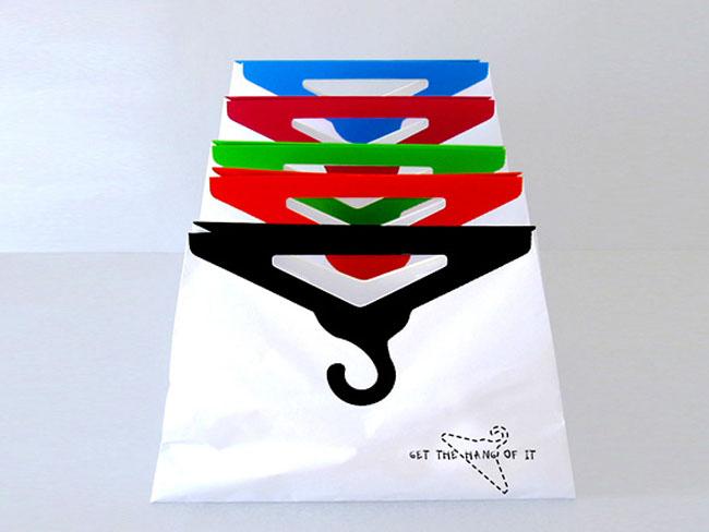 хартиен плик с дръжка