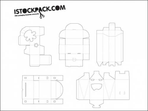 30 for Six pack holder template