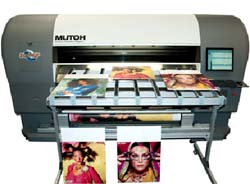 Професионален широкоформатен UV принтер Zephyr