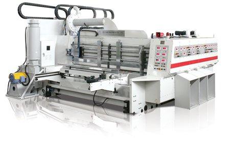 ПРОМИМЕКС с ново предложение за велпапната индустрия – флексо-принтер-слотер с автоматична секция за изходно събиране на продукцията
