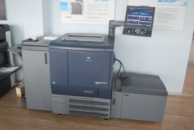 Тест на Konica Minolta bizhub PRESS C7000