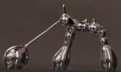 3D-печат на течен метал на стайна температура