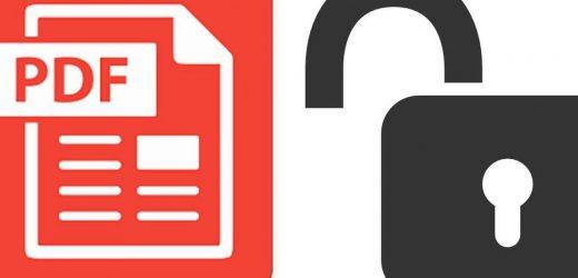 7 безплатни инструмента за премахване на защити на PDF файлове