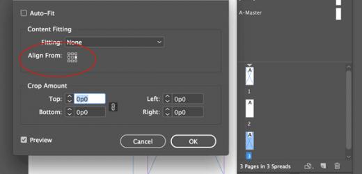 Как да разделите една страница на няколко части в Indesign