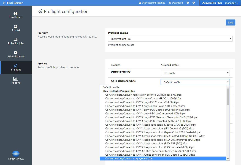 Новият модул Flux Preflight Pro за AccurioPro Flux интегрира технологията pdfToolbox на callas