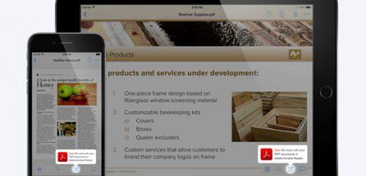 Интеграция на мобилните Acrobat Reader и Dropbox улеснява потребителите им