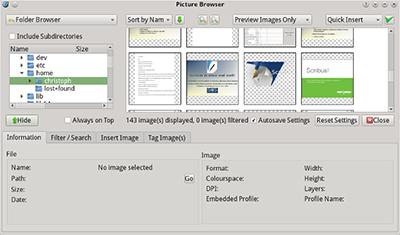 Scribus 1.5 предлага нови усъвършенствани функции