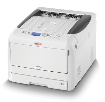 Нов A3 принтер с бяло мастило от OKI