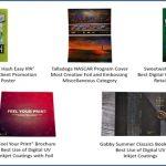 Трима клиенти на MGI JETvarnish 3D спечелиха 11 награди FSEA Gold Leaf Awards
