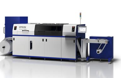 Сертификация за 91% покритие на Pantone цветовете за етикетната машина Epson SurePress L-4533A/AW