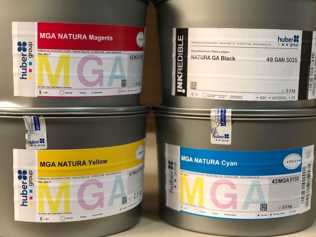 Нови мастила за картонени опаковки за храни от Hubergroup