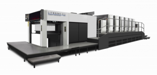 Komori Lithrone GX40 дебютира на Open House в Цукуба