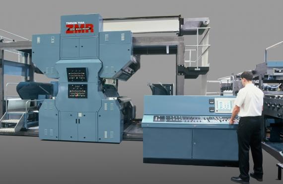 Офсетовите печатни машини Timsons се връщат на пазара