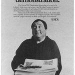 Модерна версия на превърналата се в икона реклама на Xerox с брат Доминик