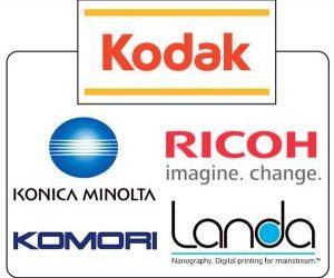 Kodak си партнира с Komori, Konica Minolta, Landa и Ricoh, разширява обхвата на Prinergy