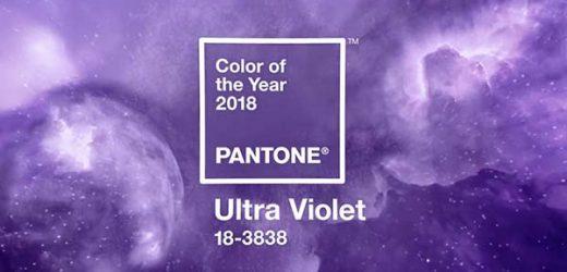 PANTONE 18-3838 Ultra Violet е цвета на годината за 2018