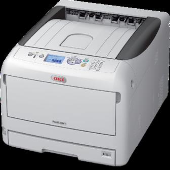 Трансферен принтер с бяло мастило на OKI