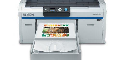 Ново поколение Epson SureColor F2100 за директен печат върху дрехи