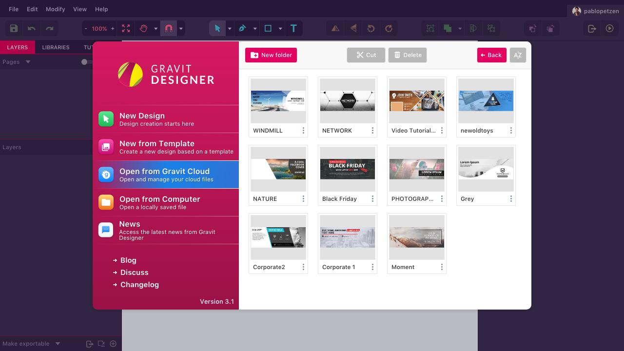 Gravit Designer 3.1 – безплатно решение за дизайн и предпечат