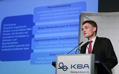 Първи резултати за KBA след преструктурирането