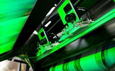 2,8 метрова цветна мастиленоструйна дигитална машина за велпапе от HP и KBA